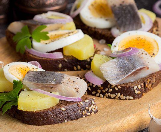 Arenque danés (herring)